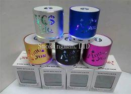 Wholesale Mini Speaker Remote Control - Hot sale Q609 Colorful Flash IOVE YOU Wireless Bluetooth Speaker SUBWOOFER TF Card U Disk FM Remote Control Autodyne Telephone