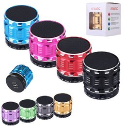 Wholesale Micro Phone For Computer - Wireless Bluetooth Mini Speaker S28 Metal Micro TF Card Read For MP3 Car Ipad Cellphone Tablet Iphone Smart phone