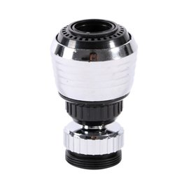 Wholesale Tap Nozzles - 360 Degree Kitchen Sprayers Water Bubbler Swivel Head Saving Tap Faucet Aerator Connector Diffuser Nozzle Filter Mesh Adapter