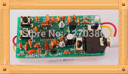 Wholesale free electronic module - Wholesale-Free Shipping!!! FM radio learning packages   FM radio module   electronic production suite (parts)