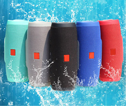 Wholesale Mp3 Sport Sound - CHARGE3 Wireless Bluetooth 4.1 speaker Outdoor Sports waterproof HIFI Subwoofer Portable support power bank mini Speakers universal TF card