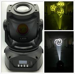rueda de gobo Rebajas (4 unidades / lote) 60W LED Cabeza móvil Luz 2 Gobo Wheel / FOCUS / 3-facet / High Power Light Professional para luz dj