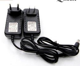 geregelte transformator stromversorgung für led Rabatt 110V-220V LED-Treiberleiste elektronischer Transformator AC12V Halogenlampe Netzteil für LED-Lichterkette Transformatoren Stecker