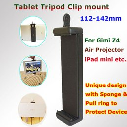 Wholesale Tripod Stand For Projector - Wholesale-Free Shipping Smilin New Gimi Z4 Air Projector Tripod Clip Mount Stand Adapter for iPad mini Tablet Selfie Stick Monopod Holder