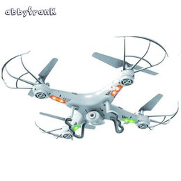 Wholesale Rc Plane Led Lights - Abbyfrank RC Helicopter Drone Remote Control 360-Eversion 2.4G 4 CH 6 Axis Gyro Quadcopter Led Light Plane Toy Without Camera