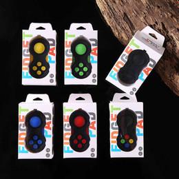juguetes de segunda mano Rebajas Controlador de juegos de segunda generación Fidget Pad Joysticks Magic Cube Fidget Spinner Hand Shank Juguetes de descompresión anti-ansiedad con caja de venta al por menor