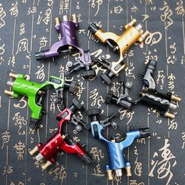 Wholesale Dragonfly Rotary Rca - Hot Sale Dragonfly Machine 6 Color Tattoo Gun Rotary Tattoo Machine for Kits Supply Two Joint RCA Machine TM275