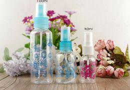 Wholesale Ml Dispensing Bottle - Wholesale- Cosmetic dispensing package printing small bottles, plastic watering can travel 30 ml 50ml 100ml