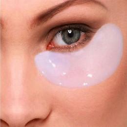 colágeno parche en el ojo al por mayor Rebajas Al por mayor-Eye Mask Anti-Dark Circle Gel Collagen Under Eye Parches Pad Mask Bag Crystal Collagen 20 pcs = 10 par / lote