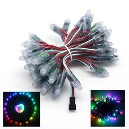 best led rgb full color  - Edison2011 12mm DC5V WS2811 1903 IC Led Pixel Module IP65 Waterproof DC5V Full Color RGB String Christmas LED Light Addressable