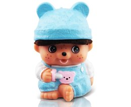 Wholesale Bank Power Iphone Cute - Cute cartoon baby doll 2600mAh Power Bank USB External Battery With LED Portable Power Banks Charger For iPhone 6s Samsung s6 Android Phones