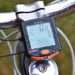 Wholesale Computer Sensors - BoGeer Bike Digital Computer Waterproof Night Backlit Outdoor Sports Imported Sensors Bicycle Speedometer Bicicleta Accessories
