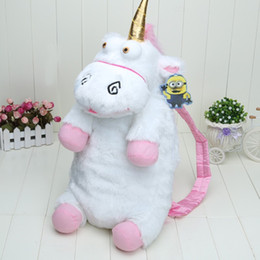 Wholesale Despicable Plush Bags - 50cm Despicable Me Unicorn Bag Plush Unicorns Toy Backpack Toys For Girls Kids Birthday Gift Cute Backpacks