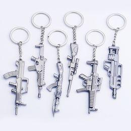 portachiavi pistola Sconti counter strike Fivesevem pistola Portachiavi arma modello pistola Portachiavi in lega 12cm Llavero Chaveiro gioielli