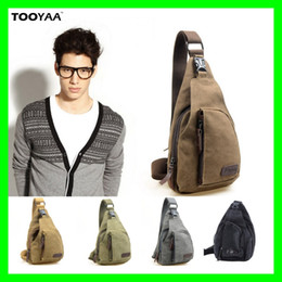 Wholesale Mens Outdoor Travel Bag - New Fashion Mens Messenger Bags Casual Outdoor Travelling Hiking Sports Canvas Bags Males Shoulder Bag Military Messenger Bags