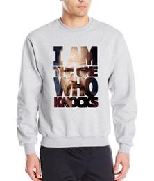 Wholesale Breaking Bad Hoodies - Wholesale-Breaking Bad 2016 autumn winter fashion Heisenberg sweatshirt hoodies hip hop style tracksuit men loose fleece cool clothing