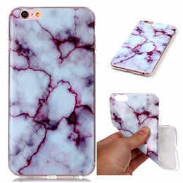Wholesale Iphone Case Adorable - Marble Series Phone Case Adorable Lovely Creative Ultra Thin Case Soft TPU Creative Cases For iPhone 7 7 plus 6 6s plus 5s
