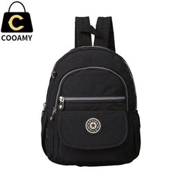 20b2dd134c Discount lady backpacks small - Wholesale- women s backpack for teenage  girls nylon backpack female schoolbag
