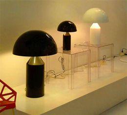Wholesale Simple Study Room - Modern Oluce Mushroom Table Lamp Creative Designer Simple Desk Lamp Bedside New For Bedroom Study Room Living Room Home Decor
