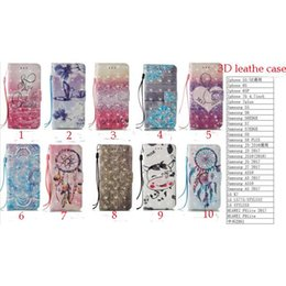 Wholesale Iphone Dream - For iphone 7 7 plus i7 3D Leather PU Fashion Friend Dream catcher For ZTE Z981 for LG LS775 Stylus 2 Stylus 3
