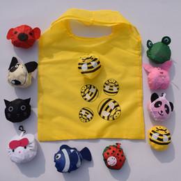 Wholesale Animal Bag Reusable - Animals Cute Useful Nylon Foldable Eco Reusable Shopping Bags Home Storage Bags