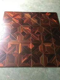Pavimenti in legno di palissandroArredamento della sala da pranzo tappeti viventi in legno massiccio Arte e artigianato Lenzuola di bambù Lenzuola di bambù Decorazione Rivestimenti per mobili da