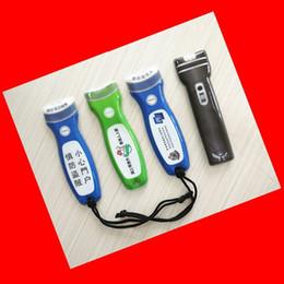 Supply plastique PVC + EVA + LED porte-clés Creative mode LOGO lampe de poche lampe bouton ? partir de fabricateur
