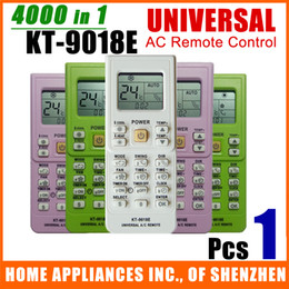 remote control kt Promo Codes - Wholesale- (1 Pc Lot) Universal Air Conditioner Remote Control KT-9018E