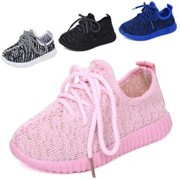 Wholesale Blue Baby Booties - kids West 350 Boost sneakers baby Boots Shoes Running Sports Shoes booties toddler shoes cheap Sneakers Training EUR size 21-35
