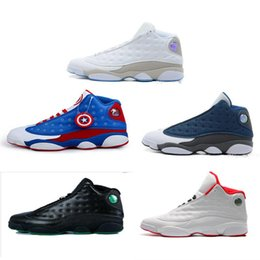 Wholesale 13 Wide - 2017 Wholesale Cheap NEW Retro 13 13s mens basketball shoes sneakers women Sports trainers running shoes for men designer Size 5.5-13
