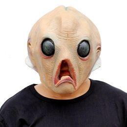 Wholesale halloween alien props - 2017 Hot New Halloween Evening Cream Mask Alien Halloween Masks Funny Scary Bat Mask Cosplay Props Party Masks Organizer