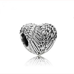 Wholesale Wholesale Jewelry Direct - Hot new angel wings beads cube eagle wings loose beads alloy macroporous bead Bracelet jewelry accessories factory direct wholesale