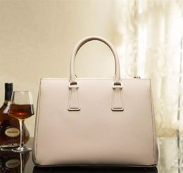 Wholesale Zipper Book - 2017 HOT! Handbag Women Brand Bag genuine leather high quality luxury famous new fashion Tote for pad book wallet purse cash