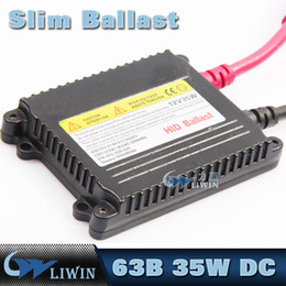 Wholesale H11 35w - 12V 35W DC HID Ballast Replacement Xenon Conversion Kit H1 H3 H4 H7 H11 9005 9006 9004 9007 HID Light With Ballast For Headlight