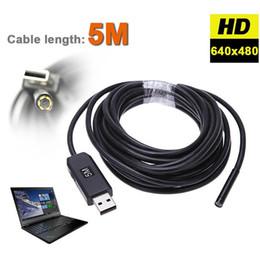 Gros-Mini 5M 5mm USB Endoscope IP67 Étanche 6LED Inspection Tube Snake Caméra Vidéo Portée ? partir de fabricateur