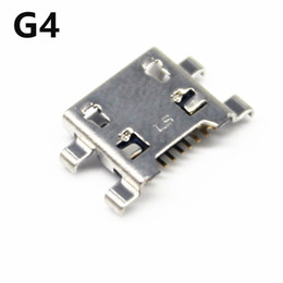 Wholesale Usb Repair - OEM New USB Charger Charging Port For LG G4 G5 V20 V10 H635 Connector Dock Port Repair Part Replacement Parts 10PCS Lot