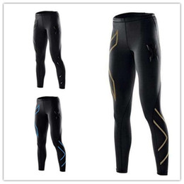 Wholesale Tight Clothes Hot Pants - hot sale Women's Running Compression Tights Pants Women Elastic Clothes Tight-fitting Sports Trousers Marathon Fitness Jogging Pants