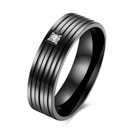 Wholesale Cool Rings For Men - Cool Men Masonic Rings Stainless Steel Wedding Rings for Men Jewelry With Blue & Black Carbon Fiber Rings Jewelry