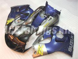 Wholesale 1998 Srad - Free Gifts New motor Fairings Kits Fit For SUZUKI SRAD GSXR750 GSXR600 96-00 1996 1997 1998 1999 2000 R600 R750 bodywork set nice blue gray