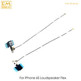 Wholesale Board Assembly - 5pcs lot Original For iphone 6S 6S Plus Loudspeaker Flex Loud Buzzer Ringer Board Signal Flex Cable Assembly Replacement Parts