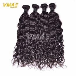 Wholesale Hot Water Hair Extensions - 2017 Hot Sale Fantastic Brazilian Virgin Hair Peruvian Malaysian Indian Remy Human Hair Weave Water Wave Hair Extensions Brazilian Hairpiece