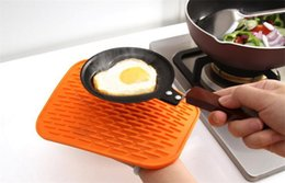 Wholesale dishes modern - Silicone Dish Drying Mat Extra-Large Silicone Dish-Drying Mat & High-Heat Resistant Trivet With BONUS Silicone Scrubby Antimicrobial