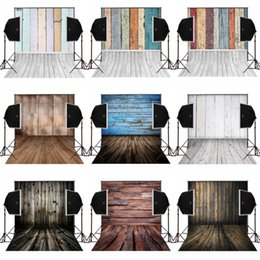 Wholesale Digital Background Floors - 150cm(W)x220cm(H) Vintage wooden floor wall for wedding photos background camera fotografia photography backdrops vinyl props digital cloth