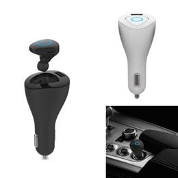 Al por mayor-Coche de Multifuction Bluetooth V4.1 Auriculares USB cargador de coche + auriculares manos libres estéreo para auriculares con micrófono para iPhone 6S Plus desde fabricantes