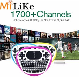 Wholesale Package Receivers - 3 6 12 Months IUDTV Europe Sky UK IPTV Channels 1700 Arabic French Channels Package HD Sports Italy Russian Sweden Indian Romania German