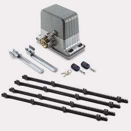 Wholesale Gate Sliding - Wholesale- Commercial Extra Heavy Duty Automatic Sliding Gate Opener 1800kgs electrical sliding gate motors 6m racks