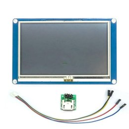 """Wholesale pi touch screen - Freeshipping English Version 4.3"""" TFT Touch Screen Display 480x272 HMI LCD Module Touch Panel for Arduino Raspberry Pi A+ B+"""