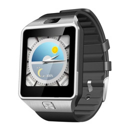 Wholesale Android 3g Phone Windows - QW09 Bluetooth smartwatch wifi HD 5 million pixel camera 3G smart watch GPS Health monitor all compatible Dz09 upgrade