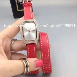 Wholesale Advance Quartz Watch - Luxury fashion business distinguished classic imported advanced precision quartz movement waterproof Diamond Fancy Leather Ladies Watch