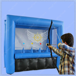 Wholesale Very Funny - Hot Saled Inflatable Safe Archery for Adult and Kids,Air Blower Include,Very funny Sport Game,Commercial Used